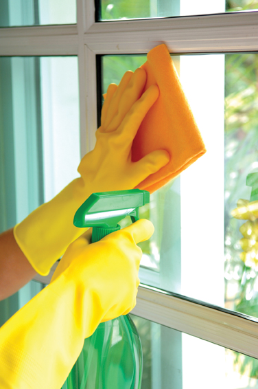 Caregivers will clean windows, among other housework.
